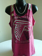 "NFL  ATLANTA FALCONS  WOMENS  LOGO ""NFC"" TANK TOP  LICENSED APPAREL   NEW! TAGS!"