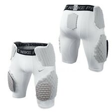 Nike Pro Combat Hyperstrong Compression 533045-100 Hardplate Grey Football Short