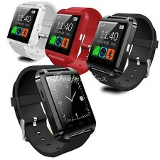 Bluetooth Smart Wrist Watch Phone For IOS Android iphone Samsung HTC Black dint