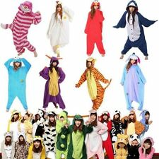 Unisex Adult Pajama Kigurumi Cosplay Costume Animal Onesie Sleepwear Dress Robe