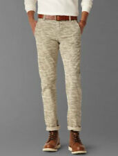 Dockers Alpha Khaki Slim Fit Flat Front Tapered Leg Grey Camo 100% Cotton Pants