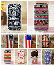 10 Style Paint Hard Pattern Back Skin Case Cover for Samsung Galaxy S3 III I9300