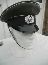 East German Officers Hat Wehrmacht Style Sizes 56 to 62 New