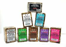 African Black Soap 100% Natural 8 kinds 8oz (a piece)