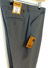 Mens Farah Frogmouth Pocket Trousers - Grey  - great buy-classic