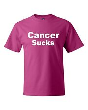 Cancer Sucks T-Shirt All Sizes And Colors New