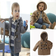 NWT Infant Baby Boys Toddler Warm Winter Jacket Outwear Coat Thick Kids Clothes