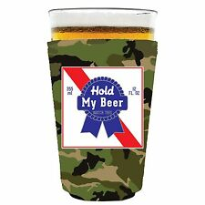 Coolie Junction Hold My Beer Watch This Funny Pint Glass Coolie, Neoprene