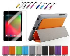 Slim PU Magnetic Smart Cover Case For 2012 Google Nexus 7 1st Gen + Film + Pen