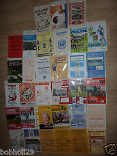 Non- League  Home Clubs starting Sp - St programmes - Pick the one(s) you want