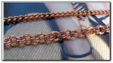 "Solid Copper Anklet Set #8 -Available in 8, 8 1/2,9, 9 1/2, 10 & 10 1/2 "" Length"