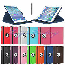 360 Rotating Case Skin Smart Cover Stand For Apple iPad Air 5 5th Gen PU Leather