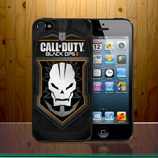Call Of Duty Black Ops Shooter Logo Skull Video Game Ghost Hard Phone Case Cover