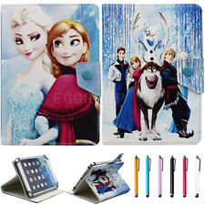"""Cute Disney Cartoon PU Leather Adjustable Flip Case Cover for 7"""" inch Tablet PC"""