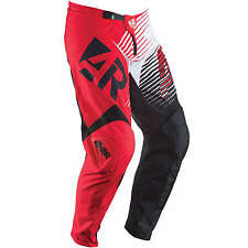 Answer 2015 NEW Mx Gear Syncron Red Adult Motocross Dirt Bike BMX MTB Moto Pants