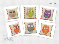 Home Series of New  Lovely Fashionble Owl-pattern Cotton  pillow cushion covers