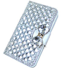 Bling Diamond Card Wallet Leather Flip Case Cover for Samsung iphone 4/4s5/5s/6