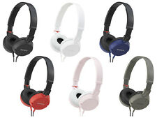 Sony MDR-ZX100 Lightweight Swivel Stereo Over the Ear Headphones (6 colors)