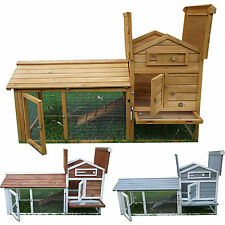 RABBIT HUTCH GUINEA PIG HUTCHES RUN RUNS LARGE DOUBLE DECKER★CHICKEN COOP HOUSE★