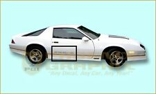 1988 1989 1990 Chevrolet IROC-Z Camaro Door Decals Only Kit