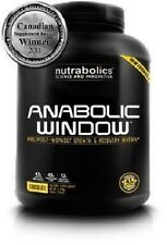 Nutrabolics ANABOLIC WINDOW Post-workout Muscle Builder (2 Flavors) NEW
