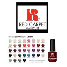 Red Carpet Manicure Gel Smalto LED - 9ml - Spedizione gratuita! (Colori 100-180)