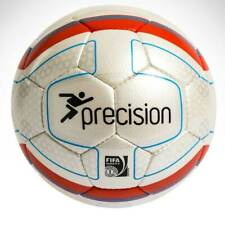 Precision Training Santiago FIFA Inspected Match Football Soccer White Orange