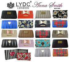 Authentic Anna Smith LYDC Ladies Designer Retro Purse Wallet Hand Bag Gift Box