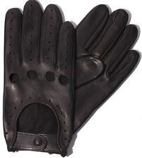 TOP QUALITY REAL SOFT LEATHER MENS Lambskin DRIVING GLOVES