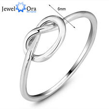 Genuine 925 2014 Fine Jewelry Bands For Women Sterling Silver Knot Ring