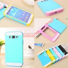 For Samsung Galaxy Grand 2 G7106 Hybrid Shockproof Multicolor Layered Cover Case