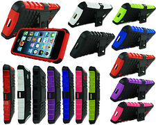 NEW DESIGN SHOCK PROOF HARD STAND CASE COVER FOR VARIOUS MOBILE PHONE MODELS