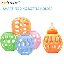 Rooba Smart Baby Feeding Bottle Holder Protector For Wide Mouth Bottles