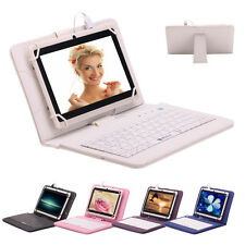 """IRULU eXpro X1 7"""" 8GB Tablet PC Android 4.4 A33 1.5Ghz Quad Core Cam w/ Keyboard"""
