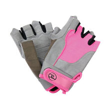 Fitness Mad Strength Womens Cross Training Weight Lifting Fitness Gloves - Pink