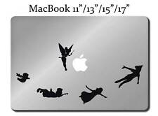 PETER PAN Disney Decal LAPTOP MACBOOK Mac Pro Air Sticker Apple Tinkerbell M118