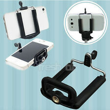 Smart Mobile Phone Tripod Holder Clip Fits For iPhone 6 6 Plus 5S 5 Samsung Sony