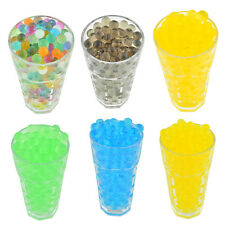 250pcs Jelly Crystal Soil Gel Water Beads For Vase Refill Home Wedding Decor