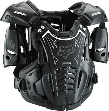 Fox Racing NEW Mx AirFrame Black Chest Protector Roost Motocross Body Armour