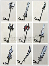 LOL league of legends 38 Characters Weapons Sword Metal Key Chain 15cm Free Ship
