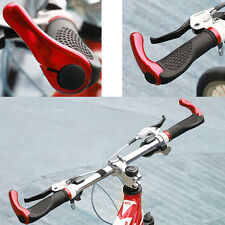 DOUBLE LOCK ON LOCKING BMX MTB MOUNTAIN BIKE CYCLE BICYCLE HANDLE BAR GRIPS END