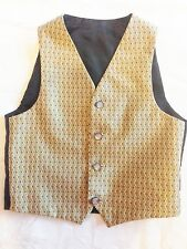 Excellent Quality and Value Gold Diamond Wedding Waistcoats