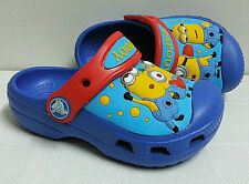 New CROCS Unisex Children Water Shoes Clogs Size 6-7 8-9 10-11 12-13 Minions