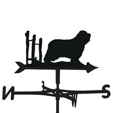 WEATHERVANE in Bearded Collie Dog Design