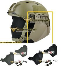 Tactical Fast Core OPS MICH Helmet Side Cover BJ PJ MH Rail Arc Armor Panels