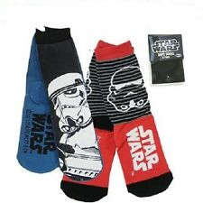 NEW STAR WARS STORMTROOPER BOYS SOCKS  SIZE 5-8,9-12,13-3