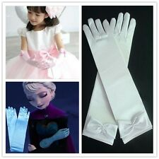 Princess Elsa Cosplay costume kids accessories cute Glove mittens for girls