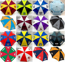 OFFICIAL NRL DOUBLE CANOPY GOLF UMBRELLA - ALL NRL TEAMS