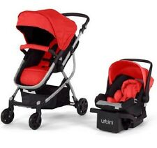 Urbini Omni 3 in 1 Versatile Travel Infant Baby Stroller Car Seat Carry Safety