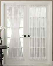 Batiste Sheer French Door Curtain Panel with Tieback by Stylemaster®